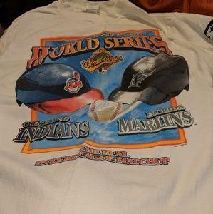 1997 World SERIES Cleveland Indians Florida Marlin